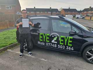 Luke from Portsmouth passed first time